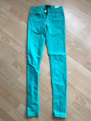 Supertrash Low-Rise Trousers turquoise