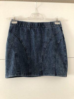 H&M Jupe en jeans bleu-bleu foncé