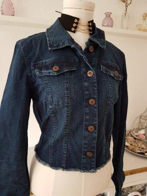 stretchige Crop-Jeansjacke von ONLY Gr.40