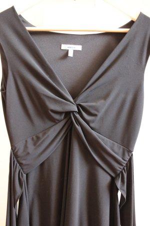 Stretchiges Abendkleid von Montego mit tiefem V-Ausschnitt in Größe 36