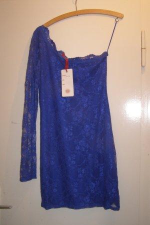 stretchiges One-Shoulder Kleid S/M