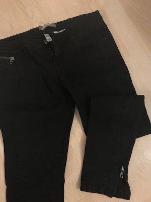 Clockhouse Drainpipe Trousers black
