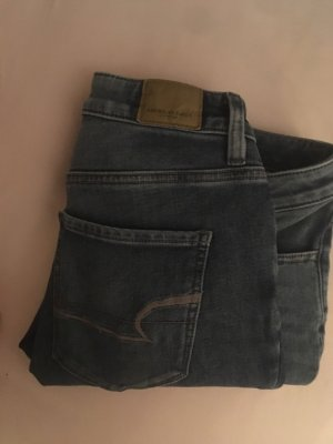 American Eagle Outfitters Tube jeans leigrijs-blauw