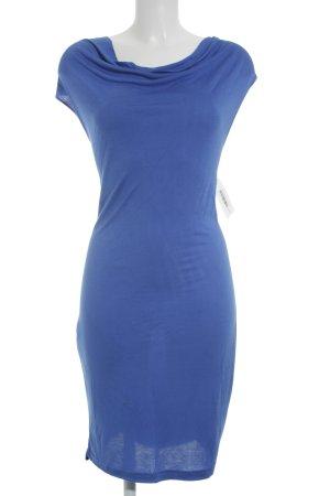 Stretchkleid blau klassischer Stil