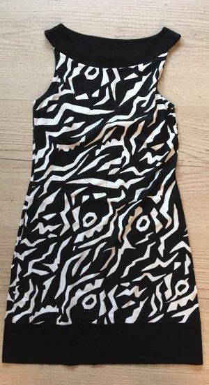 s.Oliver Stretch jurk zwart-wit