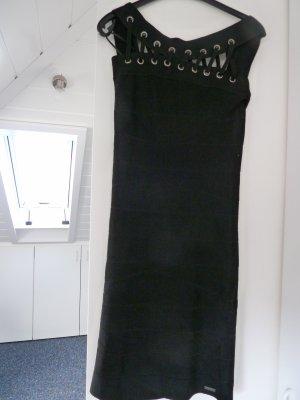Pepe Jeans Vestido de tubo negro Viscosa