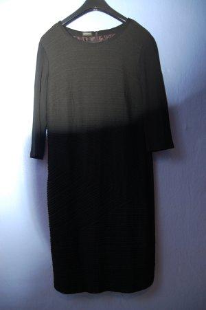 Gerry Weber Vestido elástico negro tejido mezclado