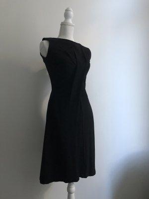 Jil Sander Vestido elástico negro