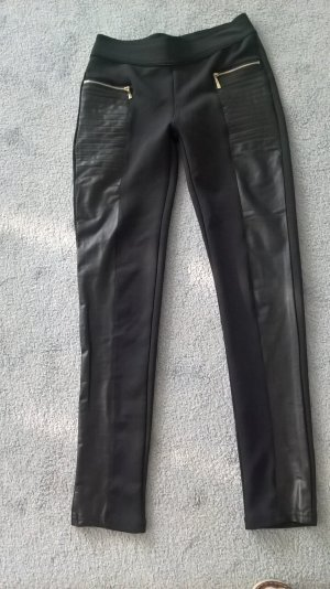 Jeggings black viscose
