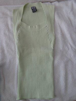 Camicia maglia verde pallido Seta