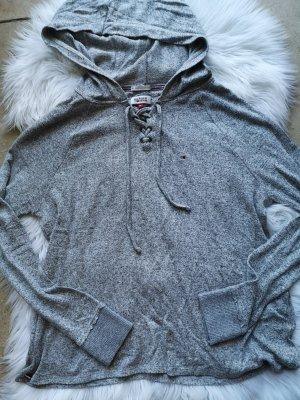 Tommy Hilfiger Pull à capuche gris clair