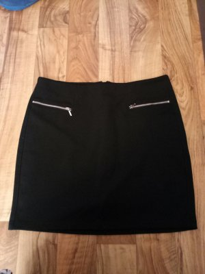 Blue Motion Stretch Skirt black