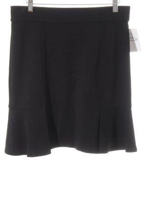 Stretchrock schwarz schlichter Stil