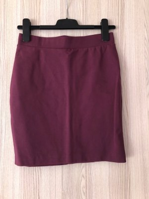 Stretchrock von Selected Femme Bordeaux *S*