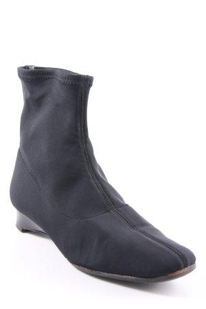 Stretch laarzen zwart klassieke stijl