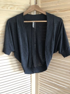 Knitted Bolero anthracite