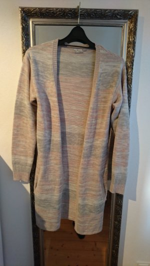 Blue Motion Knitted Cardigan multicolored