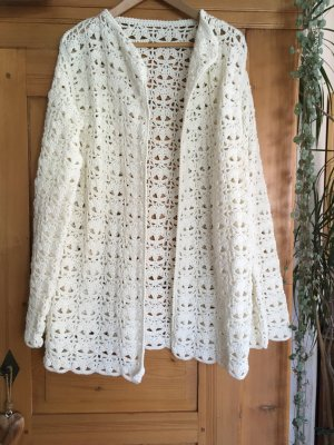 Knitted Cardigan natural white