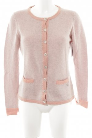 Strick Cardigan blasslila-rosa Casual-Look