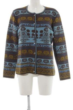 Cardigan tricotés motif de fleur style décontracté