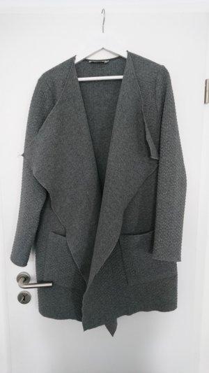 0039 Italy Cardigan tricotés gris-gris foncé