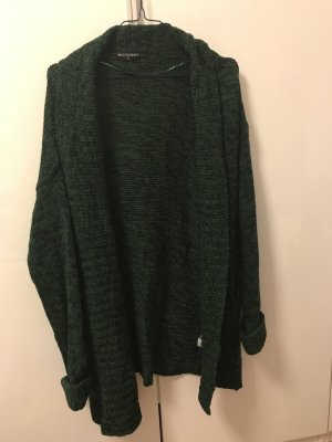 Strick Cardigan in schwarz - grün