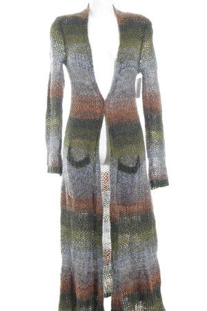 Strick Cardigan mehrfarbig Casual-Look
