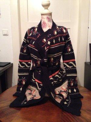 Strick-Cardigan mit Muster