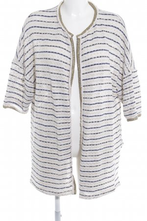 Strick Cardigan Ringelmuster Casual-Look