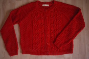 Strick-Cardigan, rot-orange, von Urban Outfitters - Staring At Stars, Strickjacke, Pullover