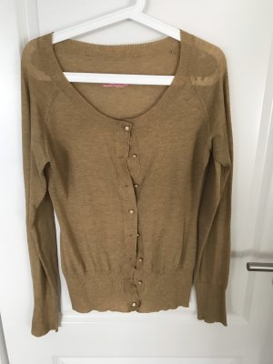 Blutsgeschwister Knitted Cardigan sand brown