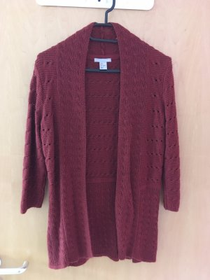 H&M Wool Jacket russet-brown red