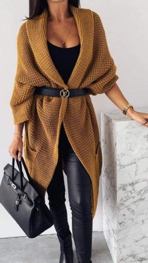 Oversized Jacket bronze-colored