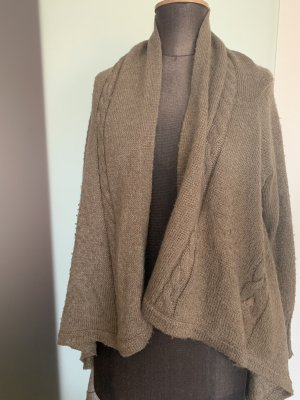 s.Oliver Knitted Coat grey brown