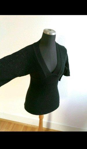 Strick Kimono mit V Ausschnitt