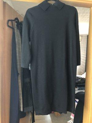Natan Vestido de lana negro