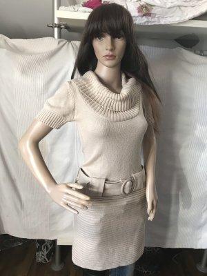 Strick Kleid, Longpulli, Farbe Camel, Gr M, KP 70€