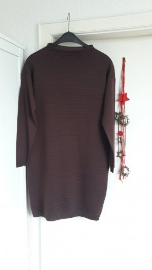 Strick Kleid Longpulli oversize Pullover