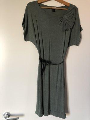 Strick Kleid mit Gürtel