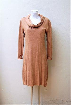 Strick-Kleid mit Kaschmir