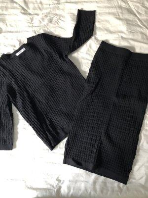 Mango Twin Set black