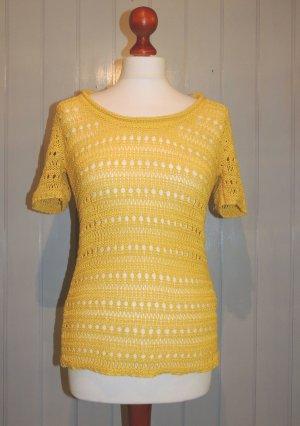 Strick - Kurzarm - Pullover von Heine Größe 36