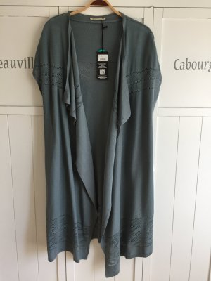 armedangels Knitted Vest sage green lyocell