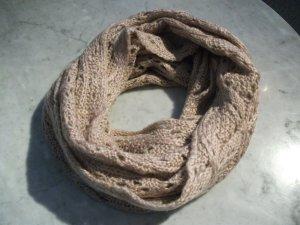 Bufanda tubo rosa empolvado
