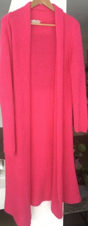 Strick Mantel pink