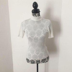 Camicia maglia bianco sporco-bianco Fibra sintetica