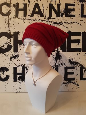 Strick Mütze Neu Rot