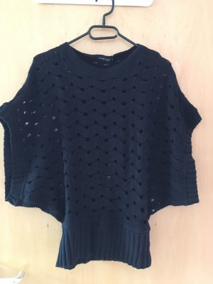 Short Sleeve Sweater black