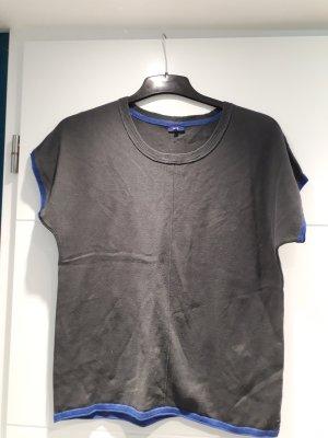 Cecil Camicia maglia grigio scuro-blu acciaio