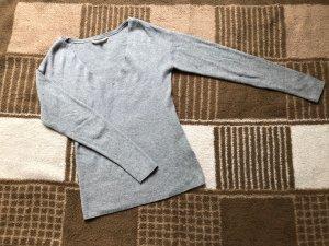 Review Cardigan en maille fine gris clair-gris
